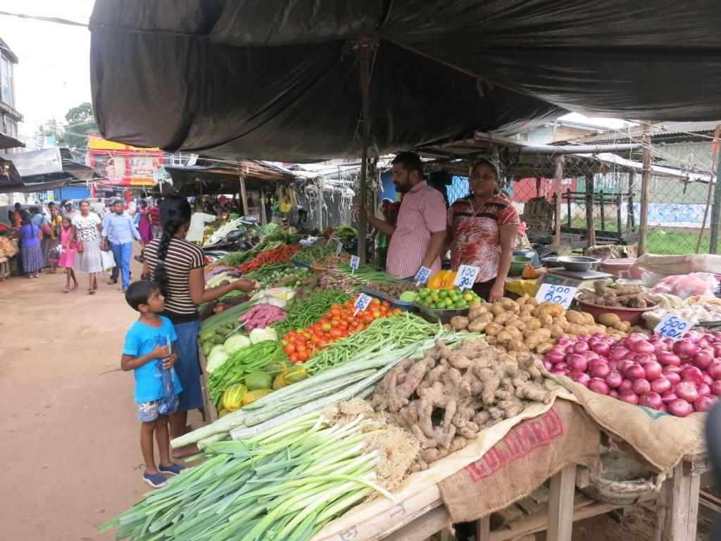 カダワタの市場