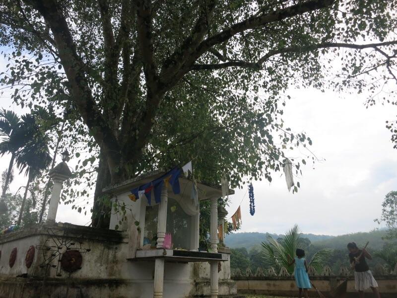 バッラパーナのお寺