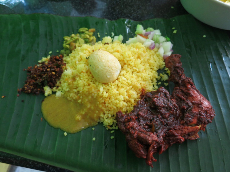 スリランカ式ブリヤーニ