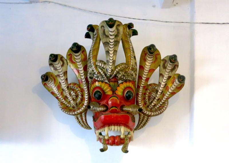 スリランカの仮面