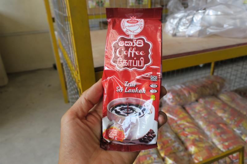 スリランカのコーヒー