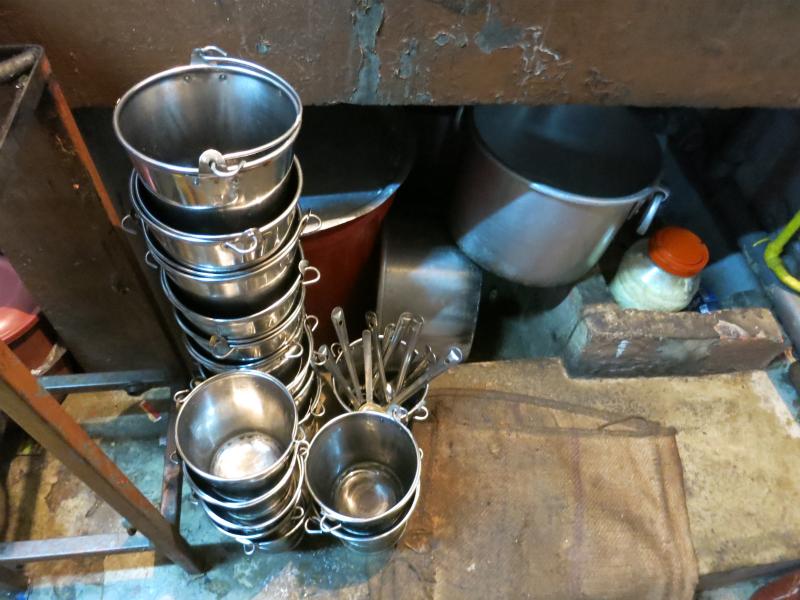タミルの厨房什器