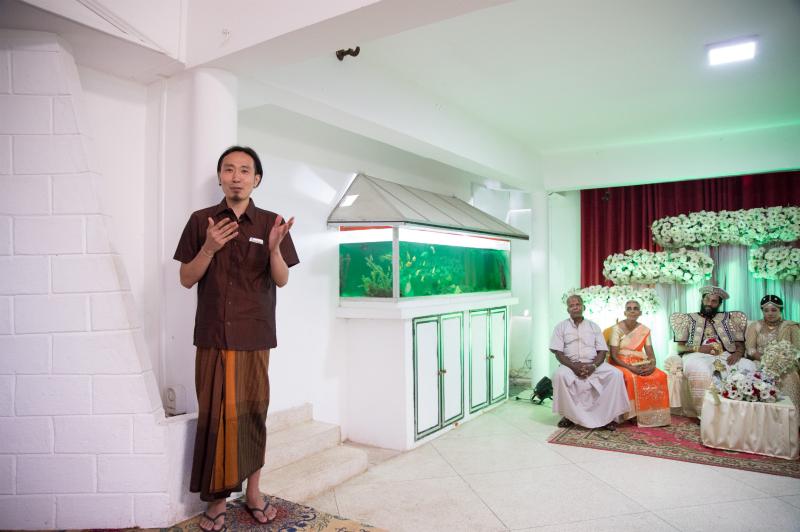 シンハラ語スピーチ