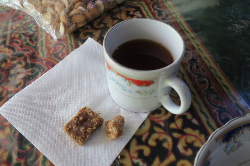 紅茶とハクル